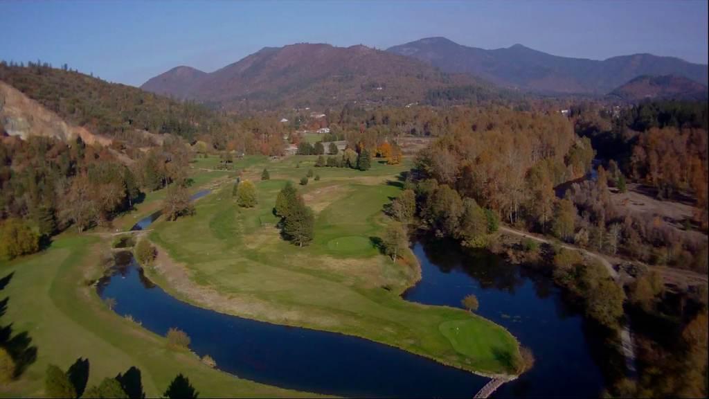 Applegate River Golf Club 4th Hole Flyover