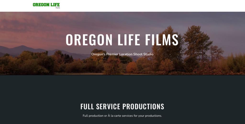 Oregon Life Films Website